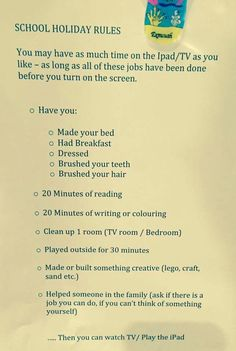 Love this list of activities that are meaningful for kiddos when they don't have school.
