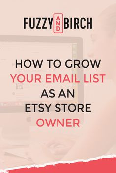 Are you an Etsy store owner looking to grow your email list to make more sales? These Etsy success hacks will help grow your list and increase Etsy sales! Email Marketing Strategy, Content Marketing, Starting An Etsy Business, Handmade Shop, Handmade Products, Etsy Seo, Etsy Crafts, Email List, Sell On Etsy