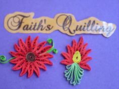 Faith's Quilling : Flowers