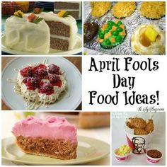Lots of April Fools Day ideas!