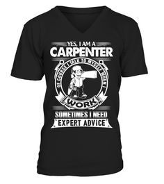 CARPENTER - V-neck T-Shirt Unisex  Shirts  PeaceforParisTshirt Gifts For  Carpenters 5ac58fe37