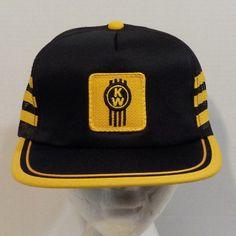 Kenworth Vintage Snapback Baseball Truckers Hat Cap Patch Logo by LouisandRileys on Etsy