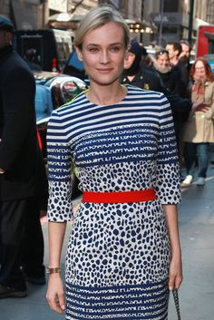 Morning Stop: Diane Kruger stopped by Good Morning America in NYC on Thursday.