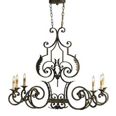 Currey & Company Assurance Oval Chandelier from @laylagrayce #hamptons