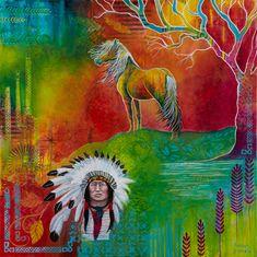 Wild Heart - Susan Farrell Art