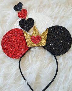 Minnie Mouse Ears Headband Minnie Mouse Birthday by Kutiebowtuties