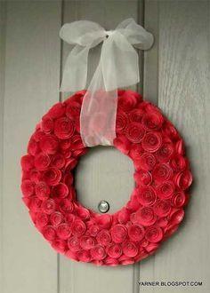 corona rosas navidad corona de flores para navidad