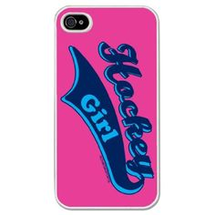 neon iPhone 4 Cases For Girls | .com: Hockey iPhone Case Hockey Girl Neon Pink Background (iPhone 4 ...