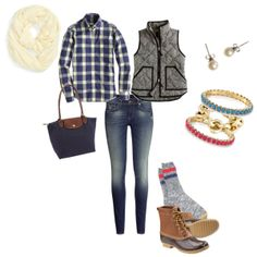 bean boot outfit