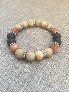 Essential Oils - Soap Stone - Diffuser Bracelet - Lava Rock - Aromatherapy - Yoga - Unisex #DiffuserBracelet