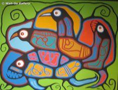 Roy Thomas Native Art, Native American Art, Woodlands School, Animal Meanings, Woodland Art, Haida Art, My Heritage, Nativity, Wisdom