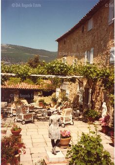 "FOR PILAR~: Dirk Bogarde's home, ""Le Pigeonnier,"" in Provence"