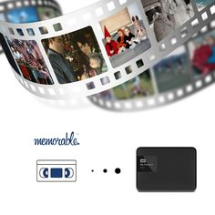 Memorable Video Transfer Box to 1TB External Hard Drive WD USB 3.0 (20 Tapes) - VHS 8mm Hi-8 MiniDV. Once upon a time beautiful memories were captured on VHS, Hi-8, and MiniDV tape. For many years they collected dust in old shoeboxes, dark basements, and far away attics. One day, a hero (you) discovered these family treasures and decided to rescue them. At your home, a box arrived with a pre-printed FedEx label to send to Memorable for resurrection. In 7-10 days all these memories were...