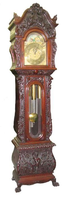 victorian grandfather clocks | grandfather clock