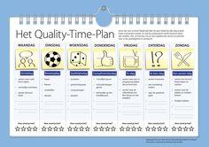 Maak tijd voor je kind. Met dit plan beleef je elke dag enkele leuke momenten samen. Simpel en doeltreffend.