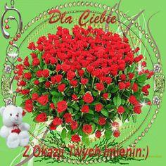 Beautiful Love Images, Happy Birthday, Red, Happy Brithday, Flowers, Urari La Multi Ani, Happy Birthday Funny, Happy Birth