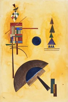 Semicircle Wassily Kandinsky (Russia, Moscow, 1866-1944) Russia, 1927 Drawings Watercolor and india ink on paper unspecified: 19 x 12 5/8 in. (48.26 x 32.07 cm); 19 x 12 11/16 in. (48.26 x 32.23 cm) Estate of David E. Bright (M.67.25.7) During the 1920s, Vasily Kandinsky was one of the most influential instructors at the Bauhaus, the experimental art school founded at Weimar, then later reestablished at Dessau....