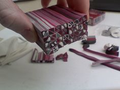 red Extruder cane STEP 5   Flickr - Photo Sharing!