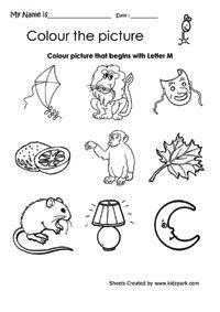 learning the letter m english preschool pinterest worksheets kindergarten and learning. Black Bedroom Furniture Sets. Home Design Ideas