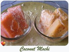 A simple and tasty Coconut Mochi local style recipe. Get more delicious recipes here.