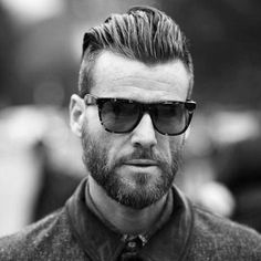 21 Undercut Hairstyles For Men You Would love to Watch Again Again. Importance of Perfect Beard Styling. Bearded Man With Medium Length Undercut Haircut. full beard men pics hairstyle a photograph of a cool hipster with a side swept undercut. Slick Back Undercut, Undercut With Beard, Beard Haircut, Undercut Men, Older Mens Hairstyles, Side Hairstyles, Undercut Hairstyles, Haircuts For Men, Crazy Hairstyles