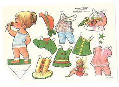 recortables muñecas de papel, paper dolls, bambole da carta, poupées en papier - merimartinez1 - Picasa Web Albums
