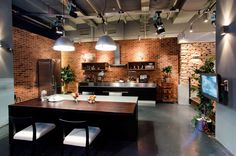 TVi Channel Studio Designed Like a Cozy Apartment  by TSEH