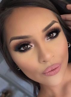Take a look at the best wedding makeup for brown eyes in the photos below and get ideas for your wedding!!! Wedding Makeup Ideas for Brides – Bridal Glam – Romantic make up ideas for the wedding – Natural and… Continue Reading ? ** To view further for this article, visit the image link. #weddingmakeup