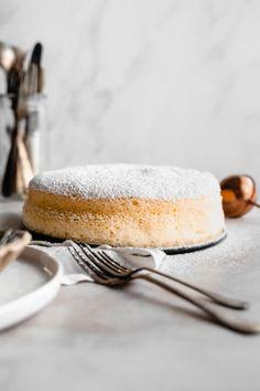 Super Fluffy Japanese Cheesecake - Inthemidnightkitchen Japanese Cheesecake, Food Photography Styling, Food Styling, Cheesecakes, Fluffy Cheesecake, Muffins, Cream Cheese Eggs, British Recipes, Raw Chocolate