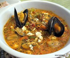 Mussels saganaki... the original recipe from Thessaloniki...