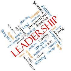 Chmura word Leadership Pojęcie pod kątem