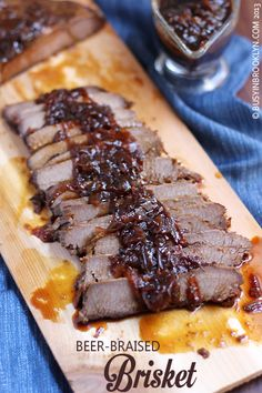 Busy in Brooklyn » Blog Archive » Beer Braised Brisket with Onion Gravy