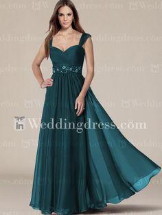 Best Mother of the Bride Dresses_Teal