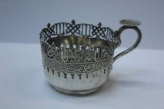 GETRÄNKEHALTER Sugar Bowl, Bowl Set, Bronze, Antiques, Gold Paint, Hang In There, Antiquities, Antique, Old Stuff