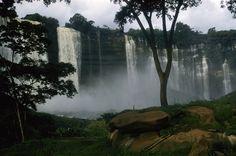 Duque de Braganca Falls, Malanje Province, Angola.