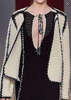 Knitwear Fashion, Knit Fashion, Womens Fashion, Boho Crochet Patterns, Crochet Lace, Knit Art, Beautiful Crochet, Knitting Designs, Crochet Clothes