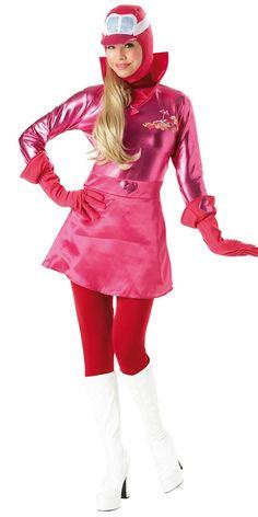 Cartoons Theme: Penelope Pitstop Costume