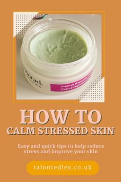 How to reduce stress and improve the health of your skin. 4 easy ways to lower your stress levels and improve your skin. Stress has a huge impact on my rosacea skin, so here are 4 easy tips for stress management, in association with Murad. Impact Of Stress, Drugstore Skincare, Secret Recipe, Rosacea, Flawless Skin, Reduce Stress, Stress Management, How To Remove, How To Make