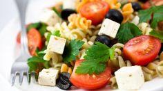 Receita de salada de macarrão light - Bolsa de Mulher