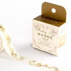 Rococo Decoration Foiled Washi Tape