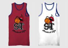 SDT sleveless basketball shirt