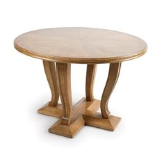 403-1 French Oak Center Table