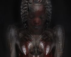 L'Afrique! is an ongoing series of photographical digital collages shot and created by Ingrid Baars. The project is inspired by the richness of African cultural heritage in all its diversity, incor… African Goddess, Africa Art, Digital Collage, Digital Art, Dutch Artists, African Women, Powerful Women, Les Oeuvres, Statue