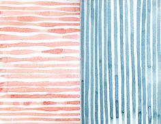 Stripes sketchbook by April V. Walters, 2015
