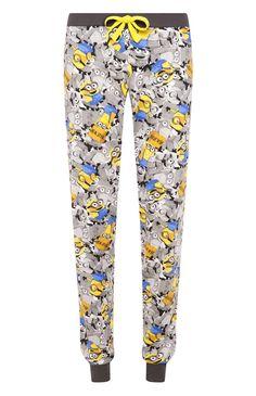 Primark - Pantalon de pyjama resserré à la cheville Minions New York