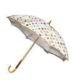 Fashion Illustration, Louis Vuitton Multicolor Umbrella, Art Print Wall Decor. $10.00, via Etsy.