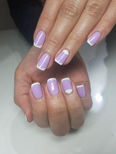 Purple and white combine