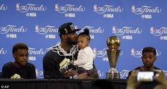 He took a page out of rival Stephen Curry's book and ensured his children Lebron James Jr ...