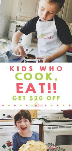 The Kitchen is the tastiest place to learn. Inspire a lifelong love of learning & good food with Raddish Kids. The perfect chance to teach your kids to cook while having fun. Get your kit today! Cooking Classes For Kids, Cooking Games, Cooking With Kids, Cooking Tips, Cooking Bacon, Cooking Beets, Toddler Meals, Kids Meals, Frugal Meals