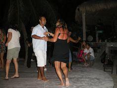 Salsa dancing at La Zebra Tulum|Tulum Living City Guide and Events Calendar